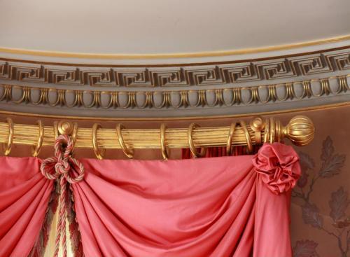 Gilded Curtain Rail