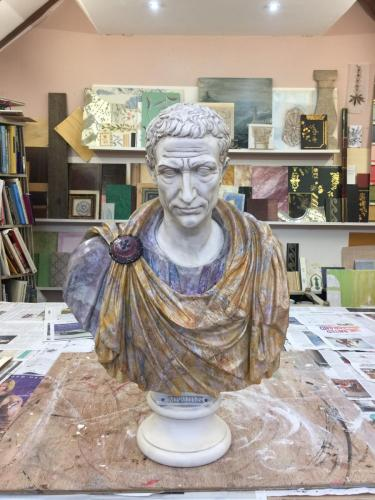 Marbled Bust of Brutus