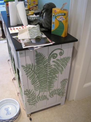 Kennel Fern Decorative Finish