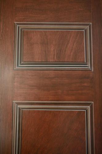 Woodgraining on Door