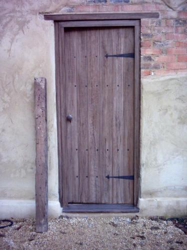Woodgraining on Door After