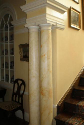 Marbled Column